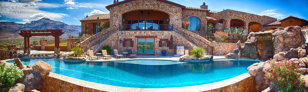 Pool company in phoenix handles new builds no limit pools for Swimming pool companies