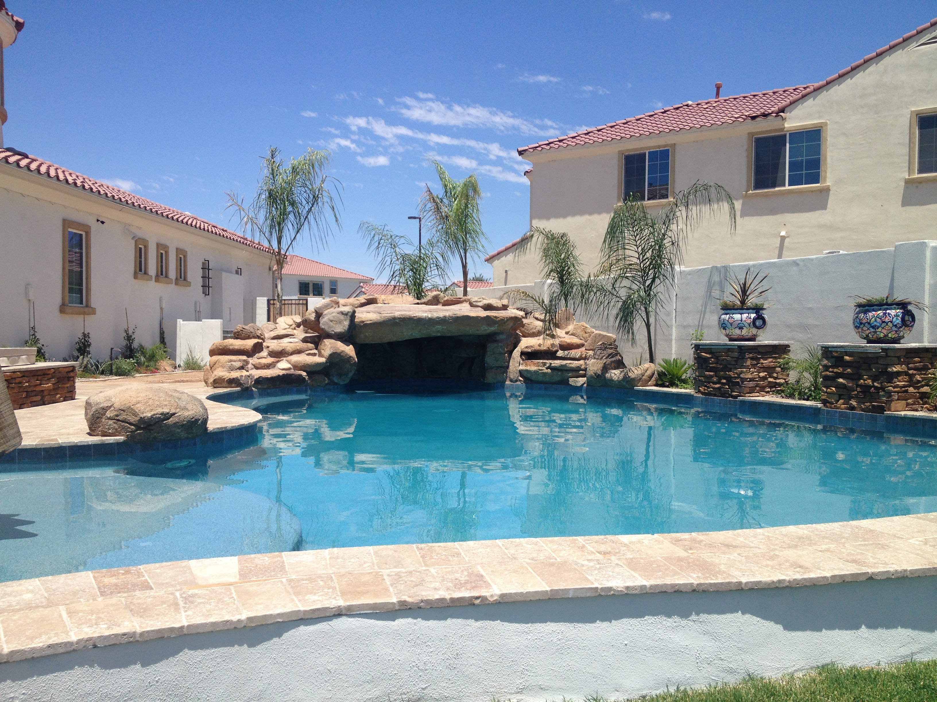 An arizona pool builder 39 s additional projects no limit pools for Pool builders in az