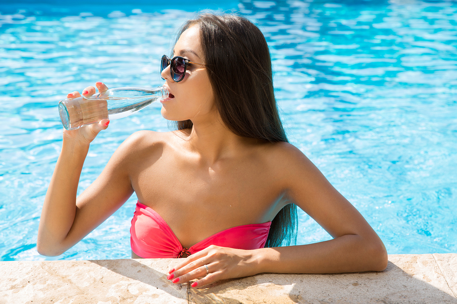 Az pool builders say stay hydrated for Pool builders in az