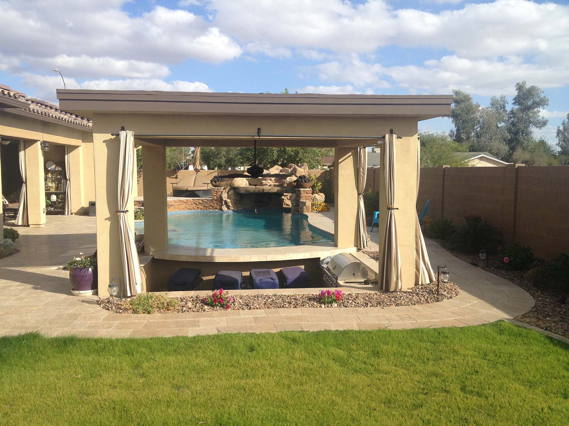 Creating a functional and fun backyard space with az pool for Pool builders in az