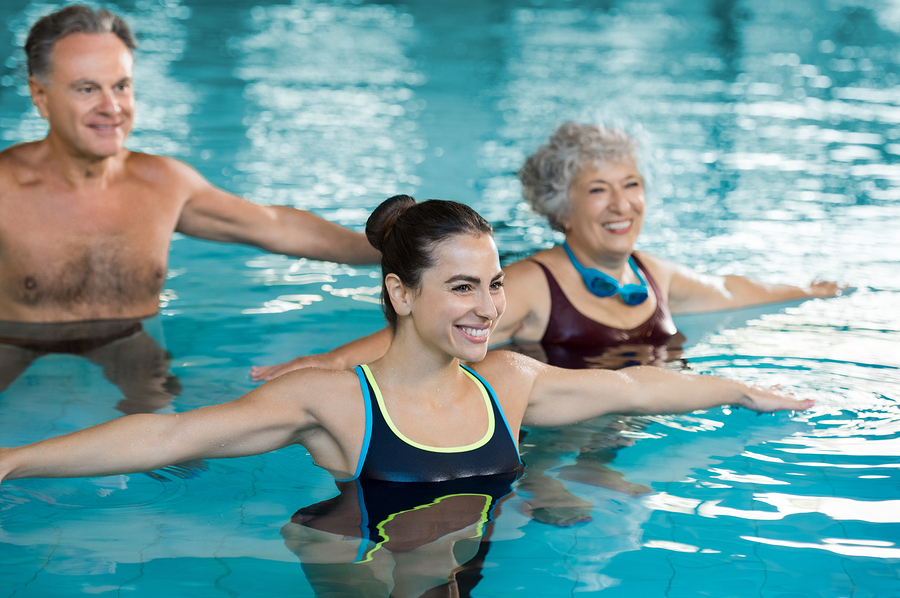 5 Exercises To Do In Your Swimming Pool Phoenix