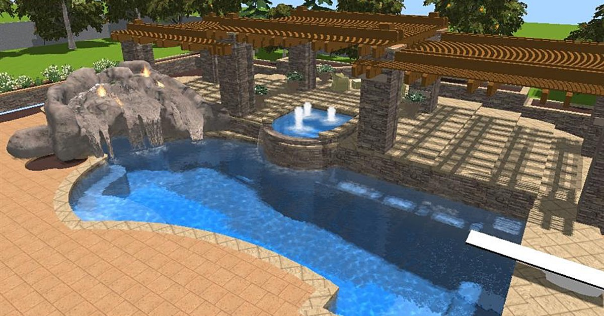 Finding The Perfect Layout for Your Backyard Pool | No ...