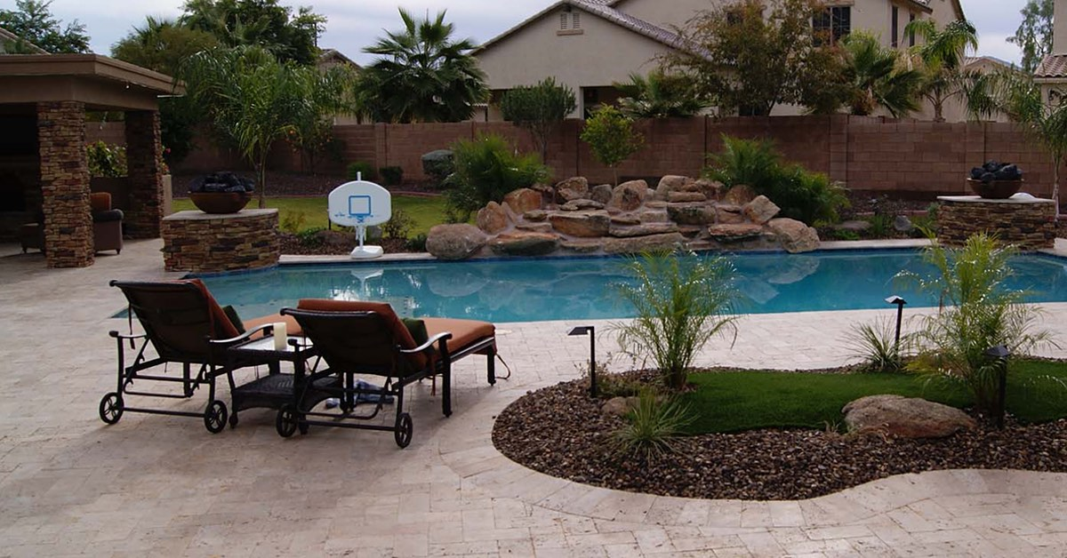 Unique Landscape Design for Poolscapes