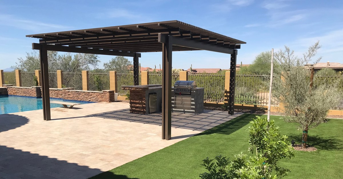Outdoor Kitchen Ideas With Pergola Space That Will Inspire No